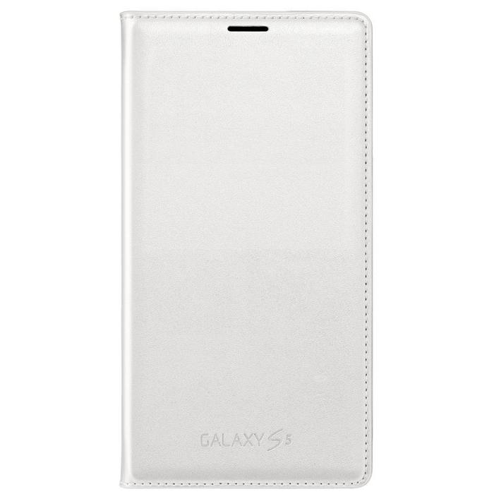 SAMSUNG GALAXY S5 WALLET FLIP COVER EF-WG900BWE - WHITE (RP)