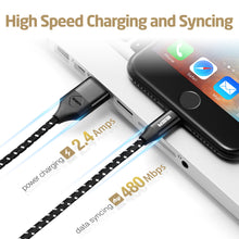 Load image into Gallery viewer, ESR BRAIDED MFI LIGHTNING CABLE-1M-CABLE-BLACK 4894240058299 (RP)