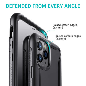 ESR IPHONE 11 PRO MAX HYBRID ARMOR 360 CASE BLACK FRAME (RP)