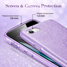 Load image into Gallery viewer, ESR MAKE UP GLITTER CASE FOR IPHONE SE 2 (2020) PURPLE (RP)