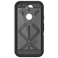 "Load image into Gallery viewer, OTTER BOX GOOGLE PIXEL 5"" BLACK DEFENDER 77-54257 (FFP-BROWN BOX)"