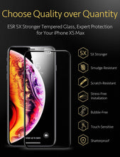 Load image into Gallery viewer, ESR 3D FULL COVERAGE GLASS FILM  10KG FOR IPHONE XS MAX BLACK EDGE (RP)