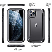 Load image into Gallery viewer, ESR IPHONE 11 PRO MAX HYBRID ARMOR 360 CASE BLACK FRAME (RP)