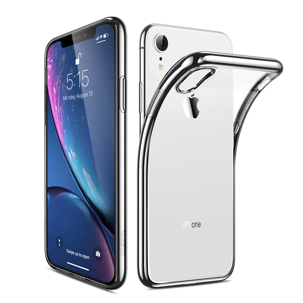 ESR TWINKLER SILVER CASE FOR IPHONE XR  (RP)