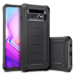 ESR SAMSUNG S10 MACHINA RUGGED BLACK  (RP)