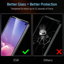 Load image into Gallery viewer, ESR SAMSUNG S10E-FULL COVERAGE GLASS FILM-5KG-BLACK EDGE 4894240081488 (RP)