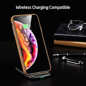 ESR IPHONE XS MAX OXFORD LEATHER BROWN (RP)