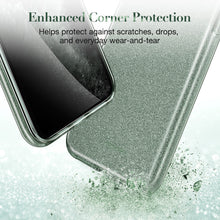 Load image into Gallery viewer, ESR IPHONE 11 PRO MAX MAKEUP GLITTER PINE GREEN (RP)