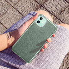 Load image into Gallery viewer, ESR IPHONE 11 MAKEUP GLITTER PINE GREEN (RP)