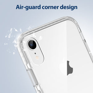 ESR IPHONE XR AIR-GUARD CORNERS AND 9H ANTI-SCRATCH BACK BLACK