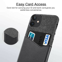 Load image into Gallery viewer, ESR IPHONE 11 METRO WALLET BLACK+BLACK (RP)