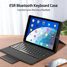 Load image into Gallery viewer, ESR IPAD 9.7 2018/2017 BLUETOOTH KEYBOARD BLUE (RP)