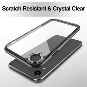 ESR IPHONE XR HYBRID AMOR BUMPER HOOP LITE CASE BLACK 4894240069448 (RP)