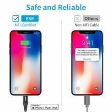 Load image into Gallery viewer, ESR USB-C TO LIGHTNING PD CABLE 1M BLACK 4894240072332 (RP)
