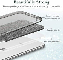 Load image into Gallery viewer, ESR IPHONE 11 PRO MAKE UP GLITTER CASE BLACK (RP)