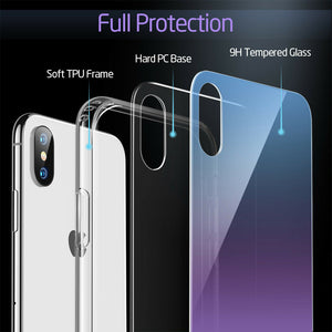 ESR IPHONE XS MAX-MIMIC-PURPLE+BLUE  (RP)