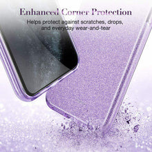 Load image into Gallery viewer, ESR IPHONE 11 PRO MAKE UP GLITTER CASE PURPLE (RP)