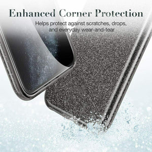 ESR IPHONE 11 PRO MAKE UP GLITTER CASE BLACK (RP)