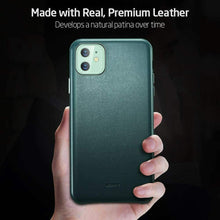 Load image into Gallery viewer, ESR IPHONE 11-METRO LEATHER-PINE GREEN (RP)