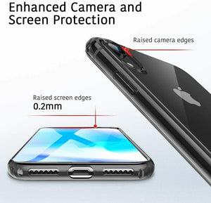 ESR IPHONE XR ESSENTIAL ZERO CLEAR/BLACK 4894240066973 (RP)