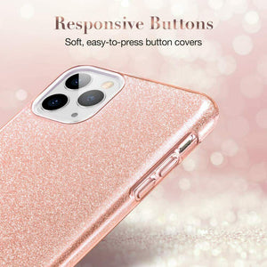 ESR IPHONE 11 PRO MAKE UP GLITTER CASE CORAL (RP)