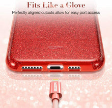 Load image into Gallery viewer, ESR IPHONE 11 PRO MAX MAKE UP GLITTER CASE RED (RP)