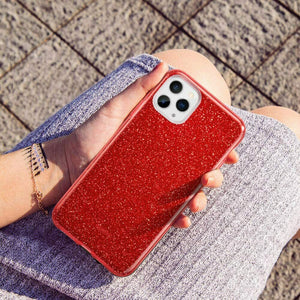 ESR IPHONE 11 PRO MAX MAKE UP GLITTER CASE RED (RP)