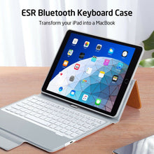 Load image into Gallery viewer, ESR IPAD 9.7 2018/2017 BLUETOOTH KEYBOARD ORANGE (RP)