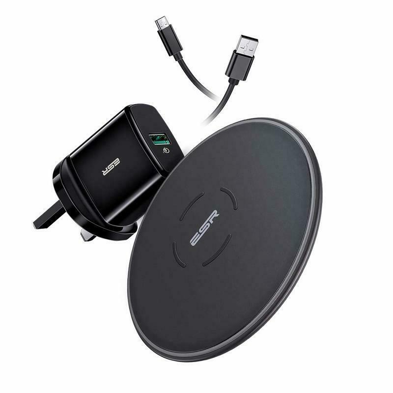 ESR ESSENTIAL WIRELESS CHARGER BUNDLE 5W/7.5W/10W BLACK 4894240080474 (RP)