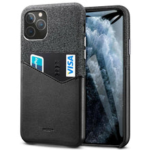 Load image into Gallery viewer, ESR IPHONE 11 PRO METRO WALLET BLACK+BLACK (RP)