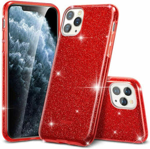 ESR IPHONE 11 MAKE UP GLITTER CASE RED (RP)