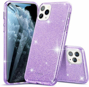 ESR IPHONE 11 PRO MAKE UP GLITTER CASE PURPLE (RP)