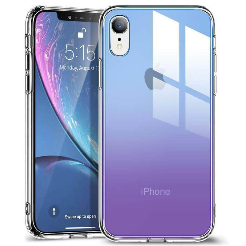 ESR IPHONE XR-MIMIC-PURPLE+BLUE  (RP)