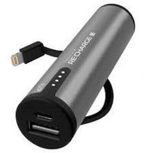 Load image into Gallery viewer, TECHLINK RECHARGE 3400MAH POWER BANK WITH LIGHTNING CABLE (RP)