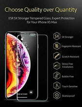 Load image into Gallery viewer, ESR IPHONE XS MAX-GLASS FILM-10KG-CLEAR-2 PACK  (RP)