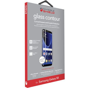 ZAGG INVISIBLE SHIELD GLASS CONTOUR FOR SAMSUNG S8 (RP)
