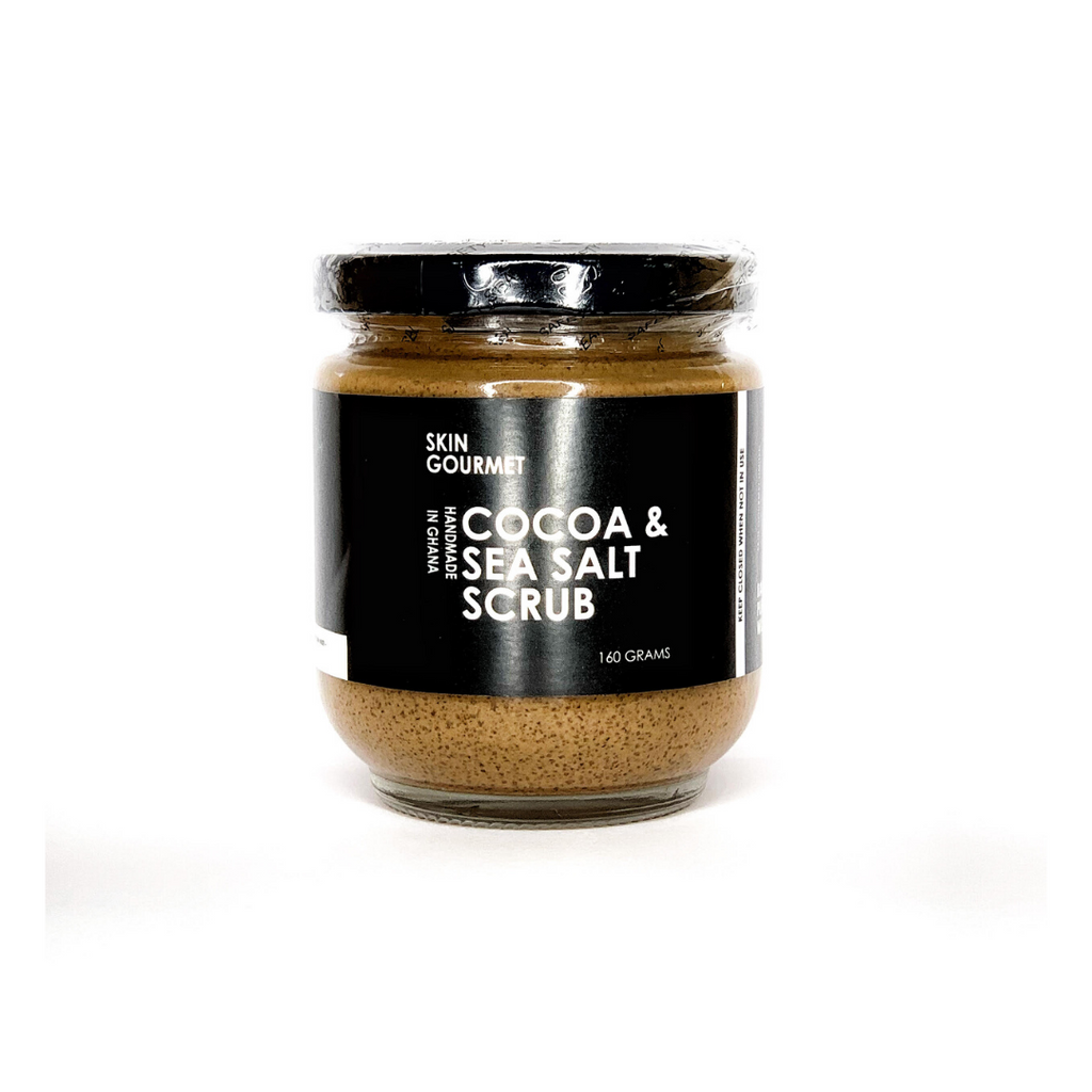 Cocoa & Sea Salt Scrub 160g