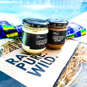 Ghana Beach Life Set (Value $69.99) - SKIN GOURMET