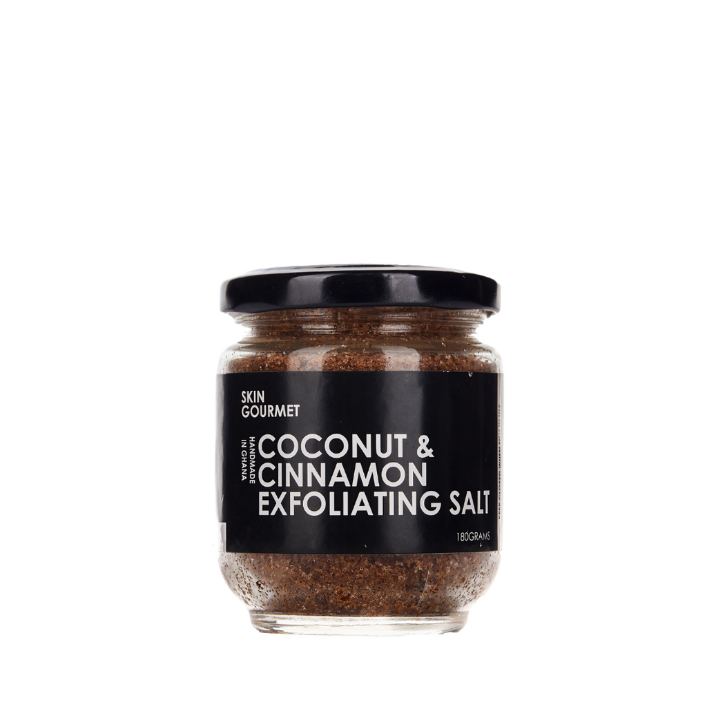 Coconut & Cinnamon Exfoliating Salt (160g)