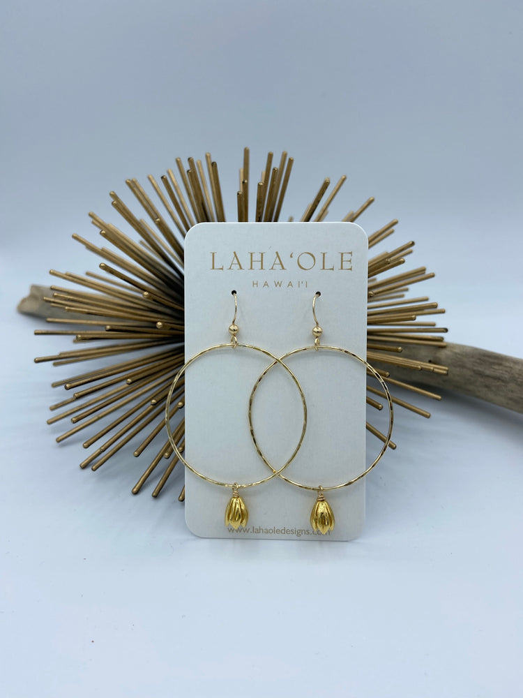 2020 Pīkake Hoop Earrings-Large
