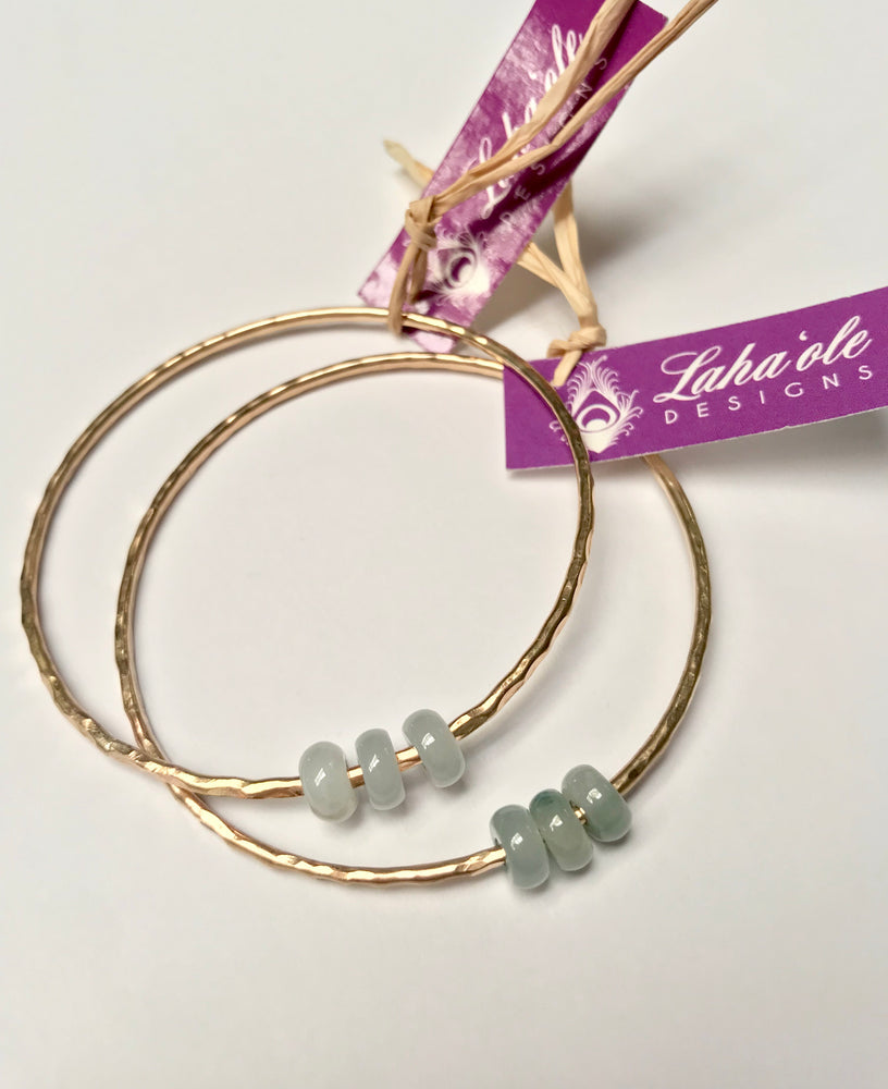 Jade Cherrio Bangle
