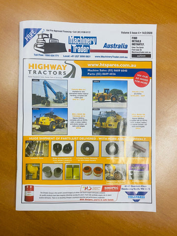 Cover Machinery Trader Australia Highway Tractor Spares