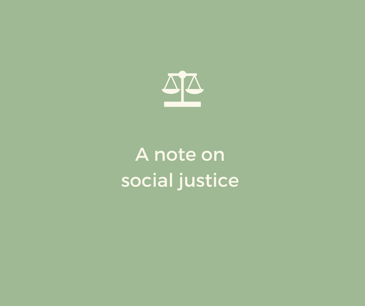 A Note on Social Justice