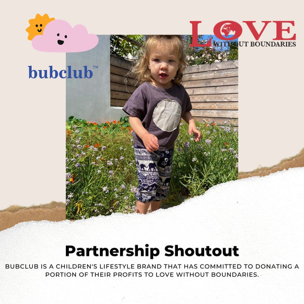 bubclub Announces Strategic Partnership With Love Without Boundaries Foundation!