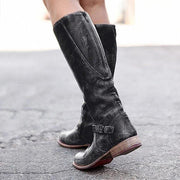 Women Zipper Daily Vintage Boots