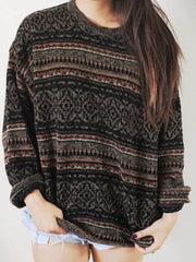 Vintage Cotton-Blend Sweater