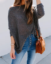 Casual Plain Sweater