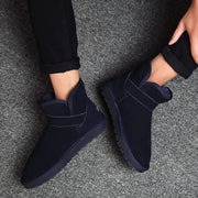 Winter Slip-on Fur Buckle Ankle Boots