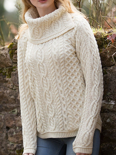 Turtleneck Casual Cotton Sweater