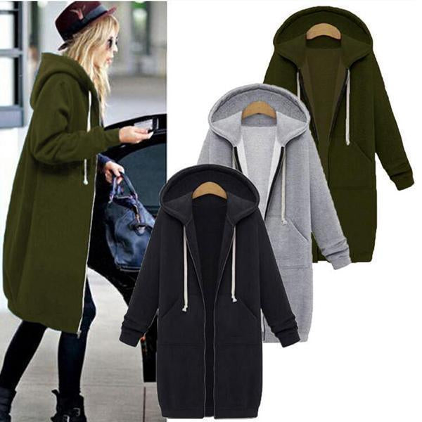 Casual Plus Size Outerwear Coats